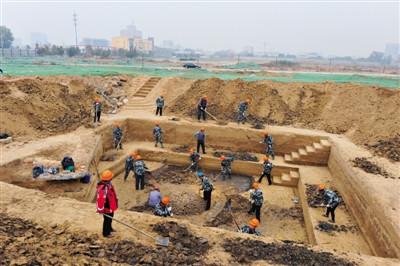 129座墓葬隐身北京大兴千年古墓群重见天日