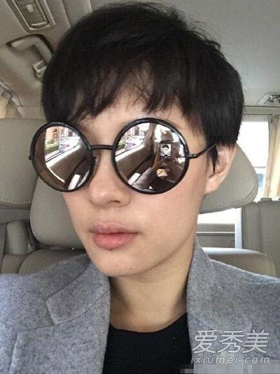 孙俪晒新发型 那些短发比长发好看的女星图片