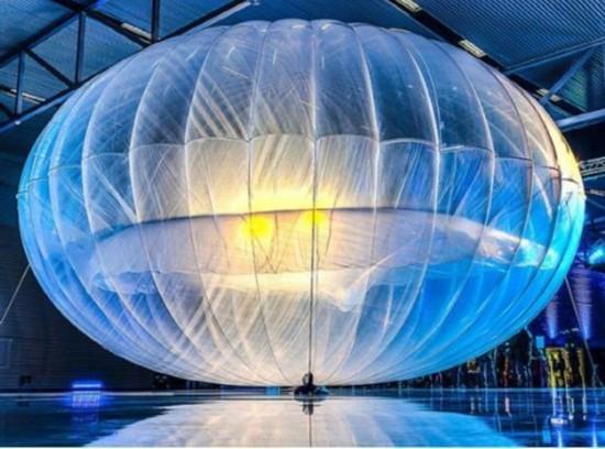 谷歌气球已开始成熟:可连续使用半年