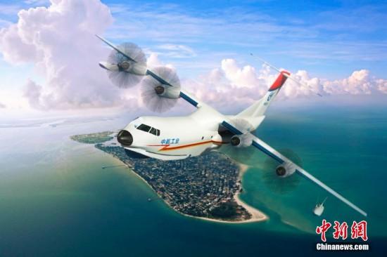 世界最大水陆两栖飞机ag600机头大部件实现交付