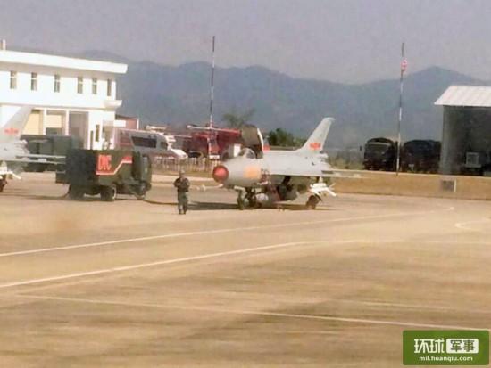 拍摄于云南临沧机场的照片显示