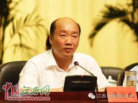 许爱民被免去江西省政协副主席职务降为副处级