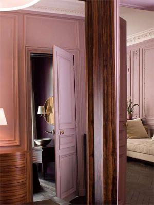 布置出一套优雅低调的粉彩家