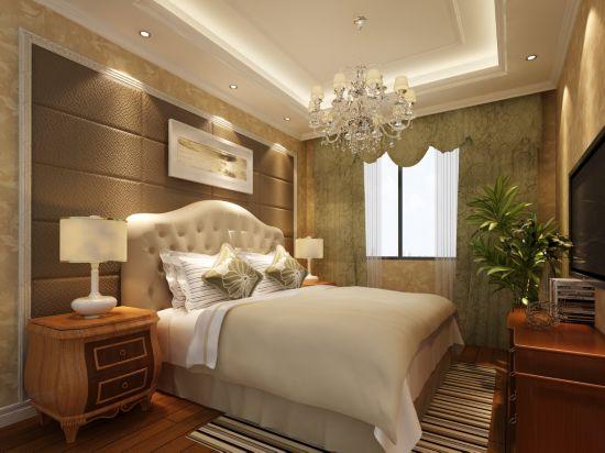96平米-卧室装修效果图