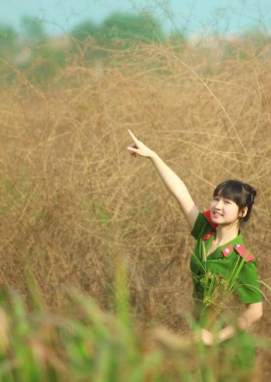 越南美女练习格斗照片曝光图