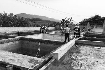 儋州:清理橡胶废水池 3人中毒身亡1人重伤