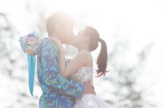 秦昊伊能静婚纱照曝光 浪漫唯美幸福满溢