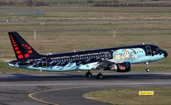 当经典动画电影遇上飞机盘点全球卡通花机