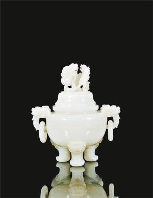 年代: 清中期 类型: 玉石器・摆件 价格:2014年12月中国嘉德四季第40期拍卖会以人民币40.25万元成交
