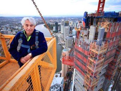 澳洲最大建商之一的Meriton集团总裁Harry Triguboff