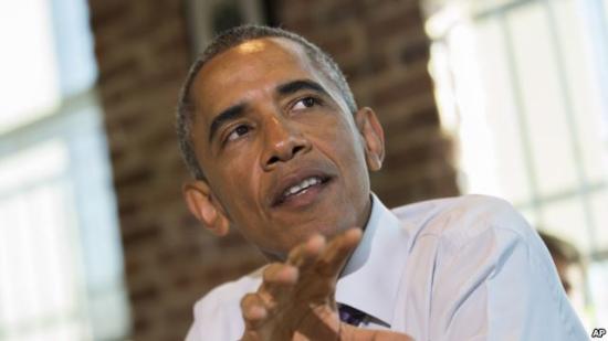 图为美国总统奥巴马。