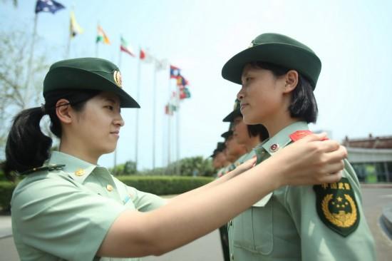 海南武警备战博鳌亚洲论坛2015年年会