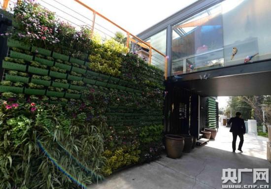 上海現造價百萬集裝箱建筑群 餐廳游泳池俱全