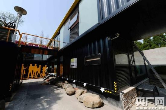 上海現造價百萬集裝箱建筑群 餐廳游泳池俱全 圖