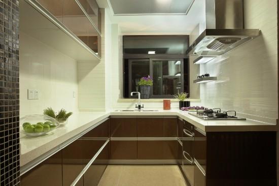40平米-厨房装修效果图