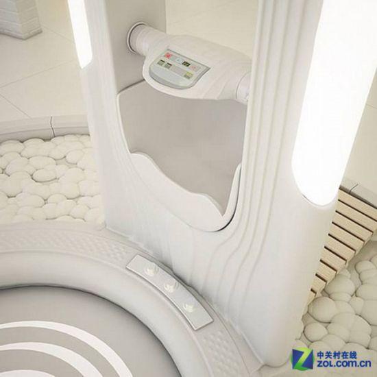新式智能浴室 开放设计具备烘干功能