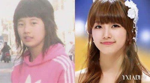 李敏镐女友裴秀智承认整容 整容前后照对比
