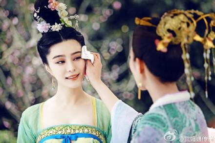 TVB为播《武媚娘传奇》砸1500万为角色胸前加布料