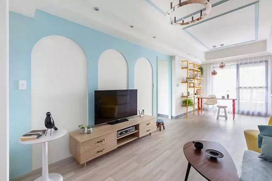 66平的小户型高级公寓装修 女青年最爱的粉色设计