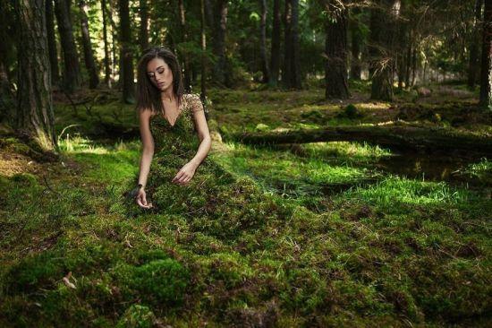 用摄影拍出灵动绝美女神