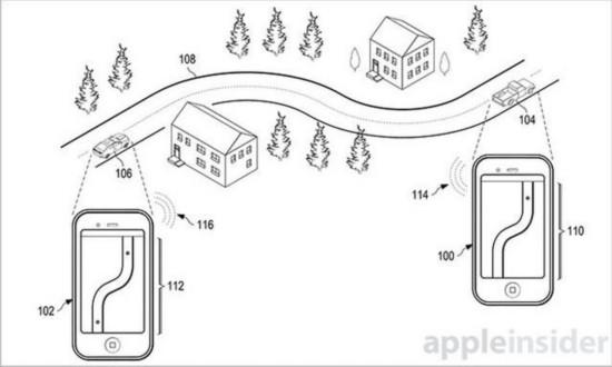 """苹果获新专利:iPhone将能""""追踪朋友"""""""