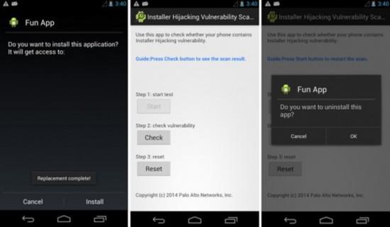 去年曝光的Android漏洞 半数设备有风险