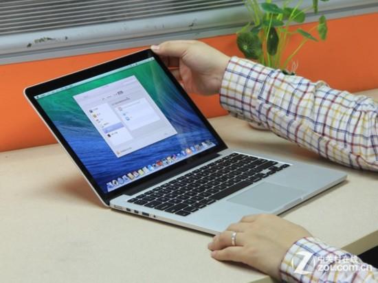 MacBook Pro(Retina屏)13寸 外觀圖