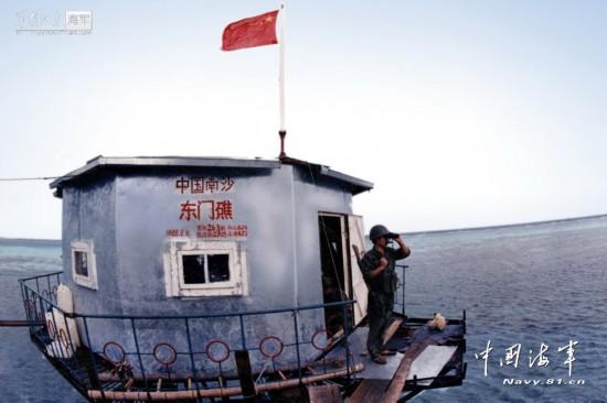 图揭!南海礁盘上解放军三代高脚屋今昔对比