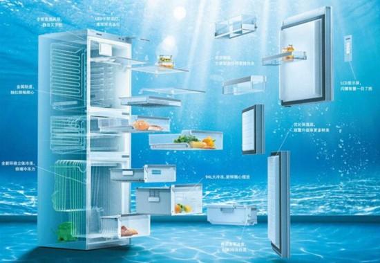 智能变频0℃保鲜 西门子三门冰箱有好礼