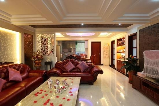 客厅隔断巧打造 8款欧式客厅隔断设计