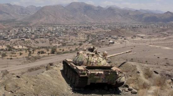 高清:也门胡塞武装逼近亚丁 中国造69式坦克守前线