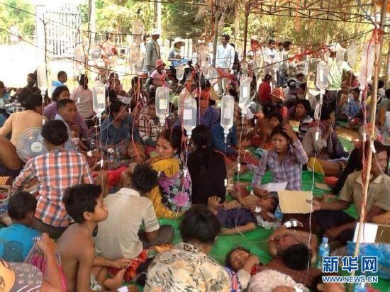 (国际)柬埔寨暹粒省发生大规模食物中毒事件