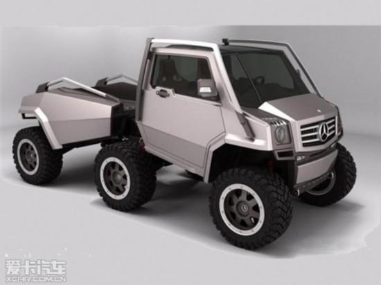 奔驰计划推首款皮卡车型 将2020年发布