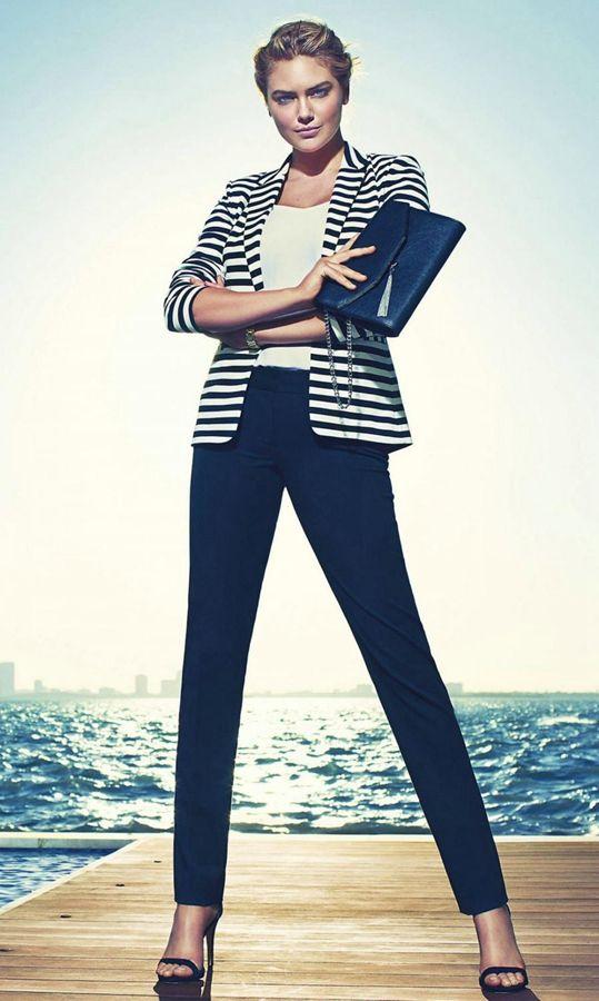 90后第一美胸超模凯特阿普顿空姐代言Gues丝袜美腿丝袜脱性感性感图片