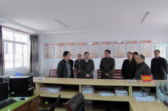 含山县县委书记卞建秋研村部及村活动场所建设