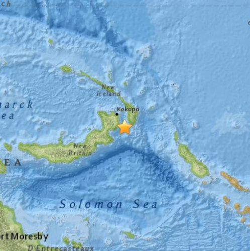 巴布亚新几内亚附近7.7级地震 发布海啸预警