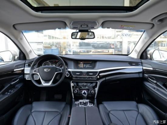 吉利汽车 博瑞 2015款 1.8T 旗舰型