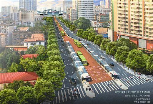 明年底,乘坐公交车从南宁火车站到南宁火车东站,说不定比驾驶汽车