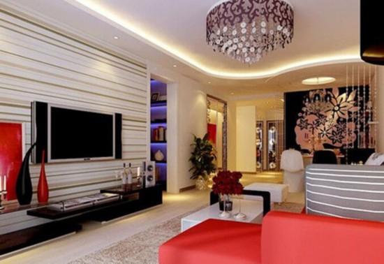 小户型装修必备 21款最in电视背景墙打造你的客厅【3