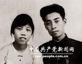 1925年周恩来邓颖超结婚照