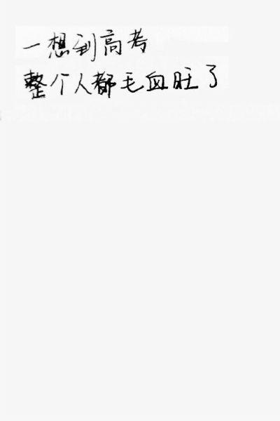 王玎玲描述了对将要参加的高考的感受
