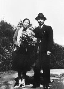 1940年8月在重庆迎来结婚十五周年纪念日。