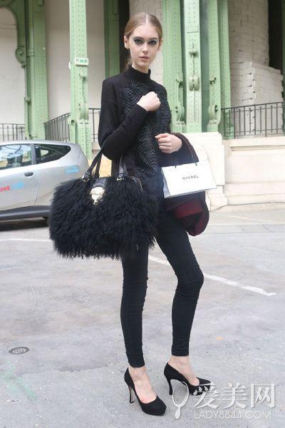 高贵冷艳穿上身 黑色单品不能少