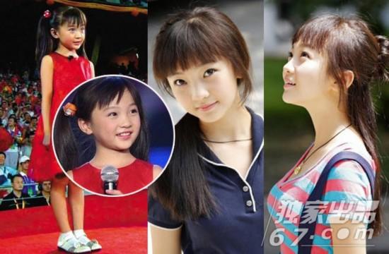童星长大变化惊人 林妙可变清纯少女身材玲珑
