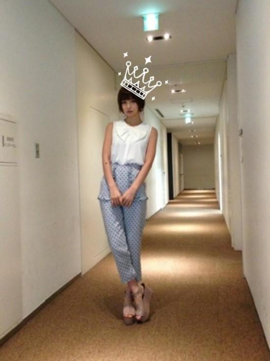 私服很土的日本女性名人排行 AKB48多名成员