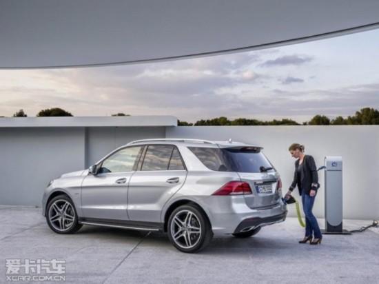 新款奔驰GLE官图发布 纽约车展亮相
