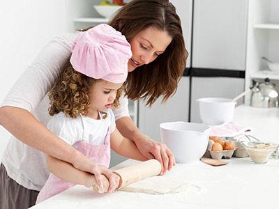 国外厨房教育(图片来源于网络)