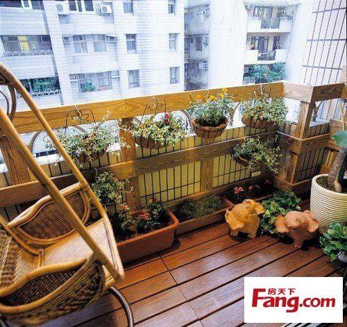 九大实用阳台设计 谁说阳台只能种花晒衣