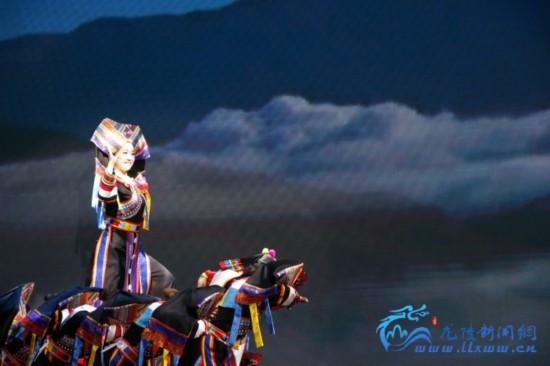 平达乡傈僳族舞蹈《傈僳欢歌》一等奖
