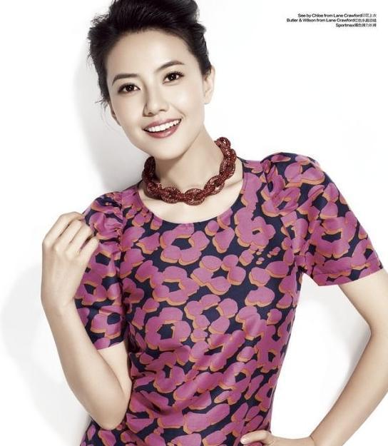 中国当红女星最标致的10张美人脸